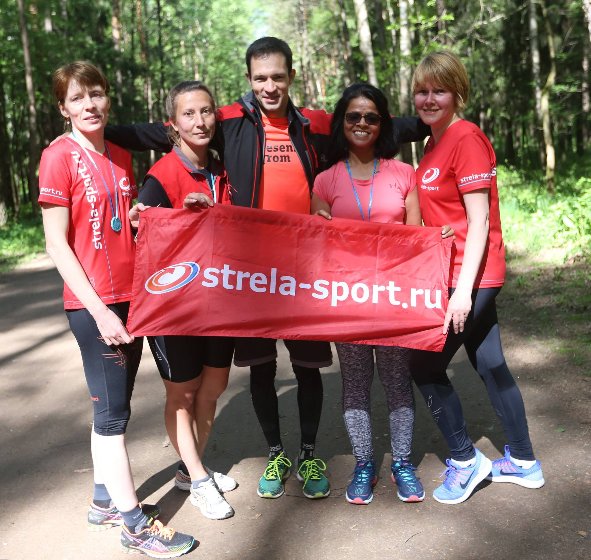 Клуб STRELA участвует в забегах!