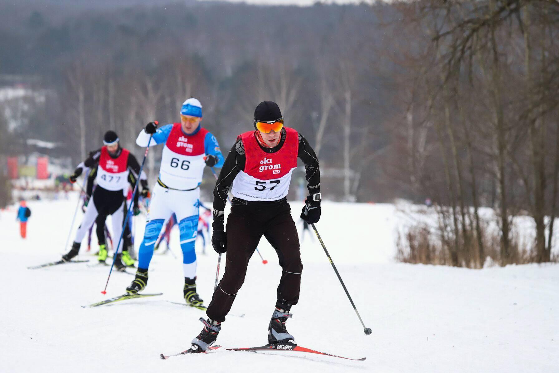 Лыжная гонка SkiGrom 30k в Битце