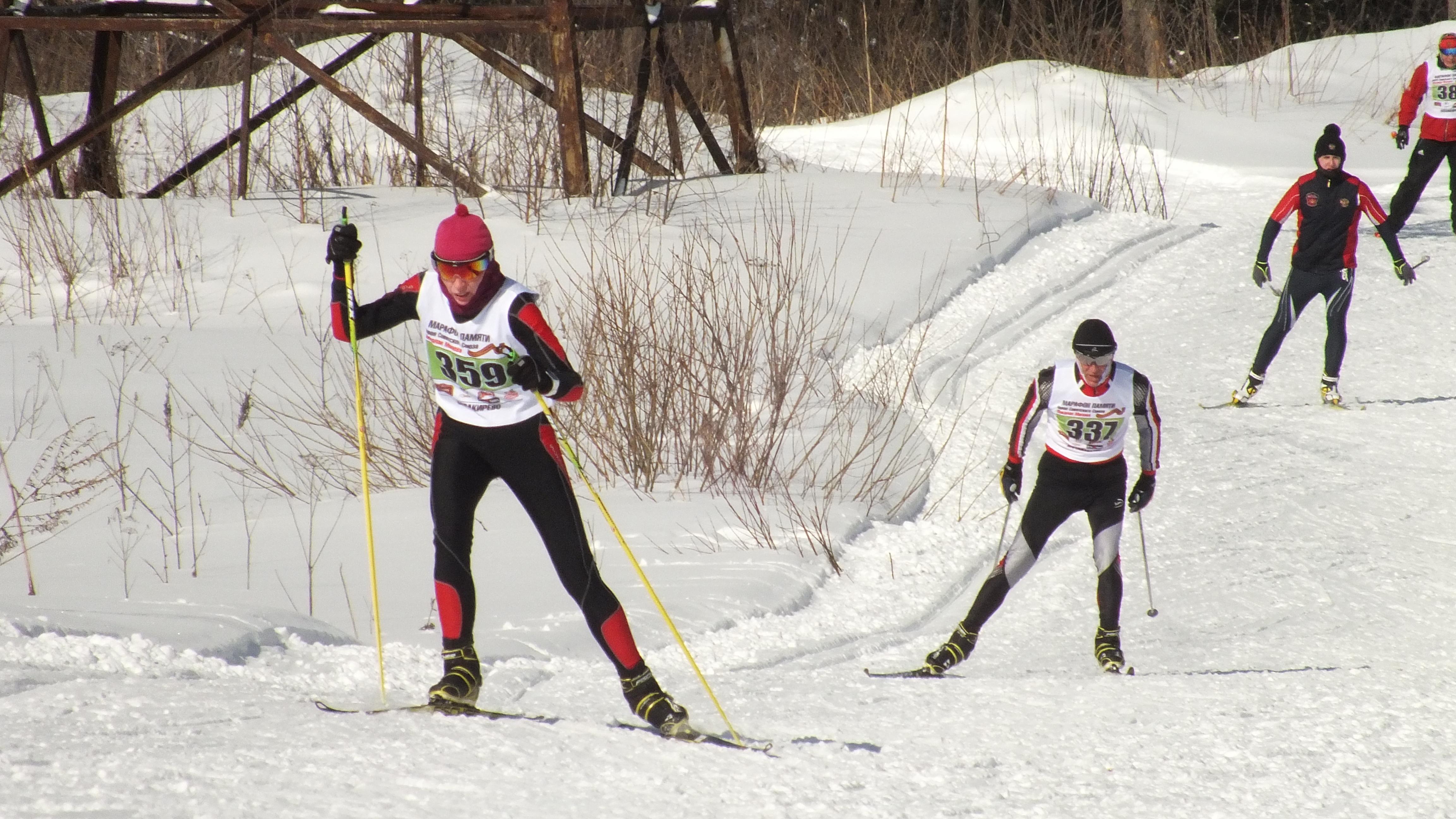 Лыжный марафон памяти Молева в Балакирево, 17 марта 2018