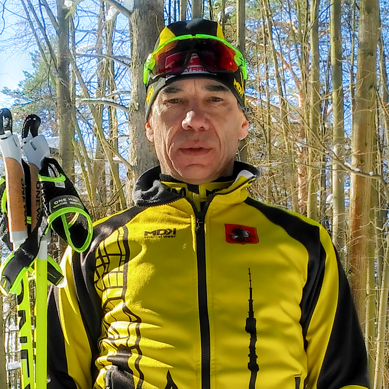 Тренер по беговым лыжам и велосипеду Юрий Столяров