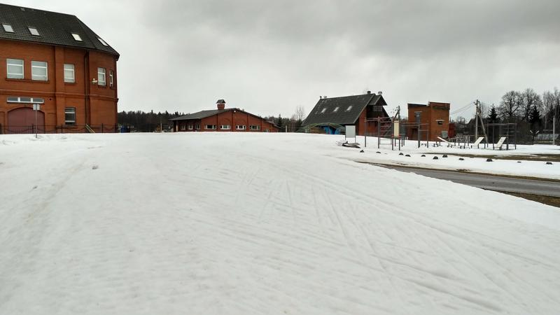 Трасса лыжного центра Истина, Головино. 7 апреля 2018 года
