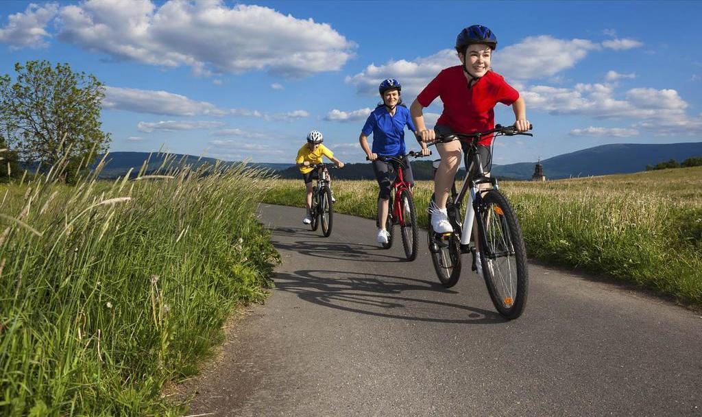 Методика обучения ребенка езде на велосипеде