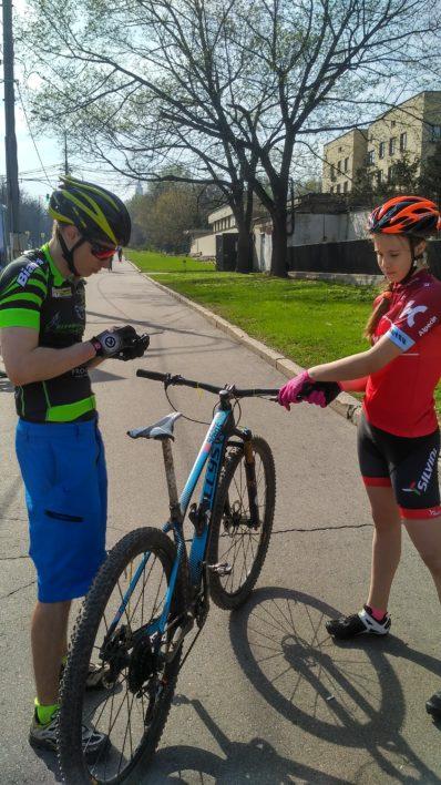 тренировка по маунтинбайку с Денисом Хоботовым. Воробьевы горы