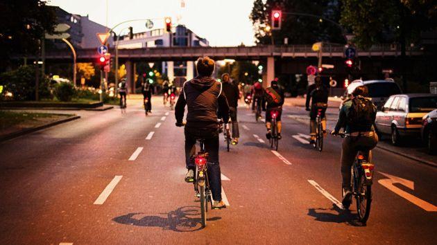 хотите похудеть - ездите на работу на велосипеде!