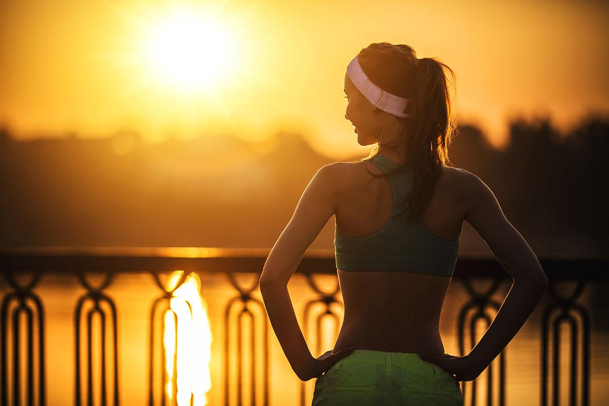 как бегать в жару