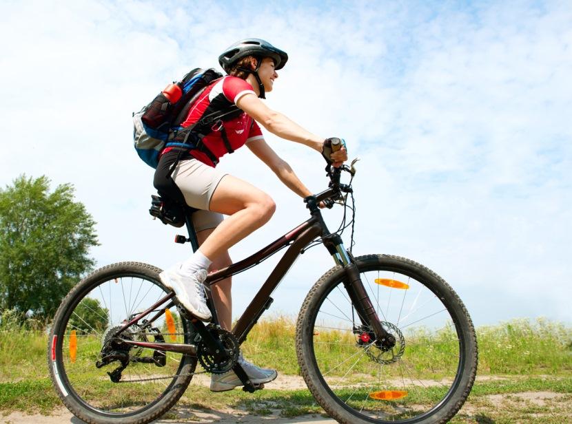 Как похудеть, катаясь на велосипеде