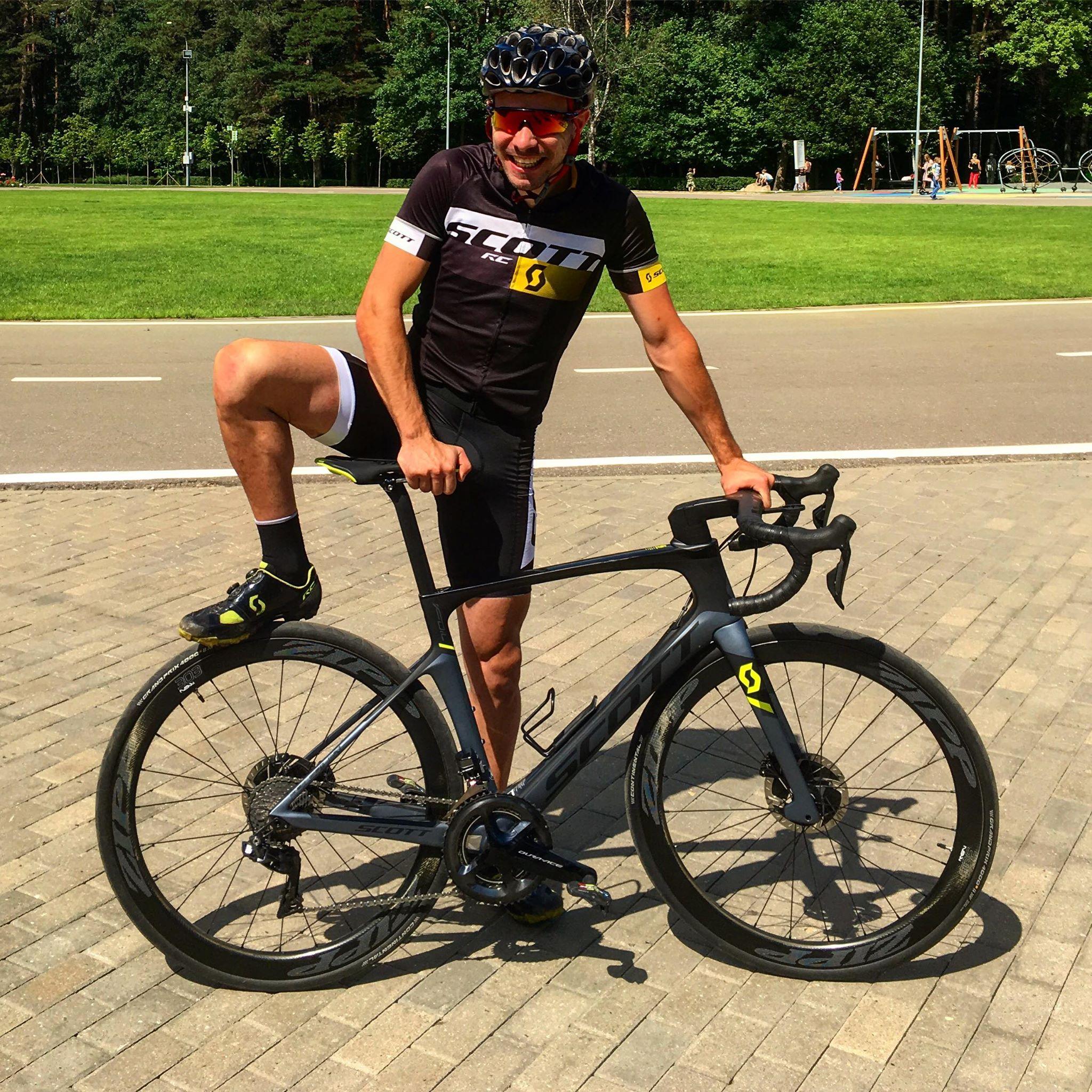 Александр Поляков - тренер по велоспорту