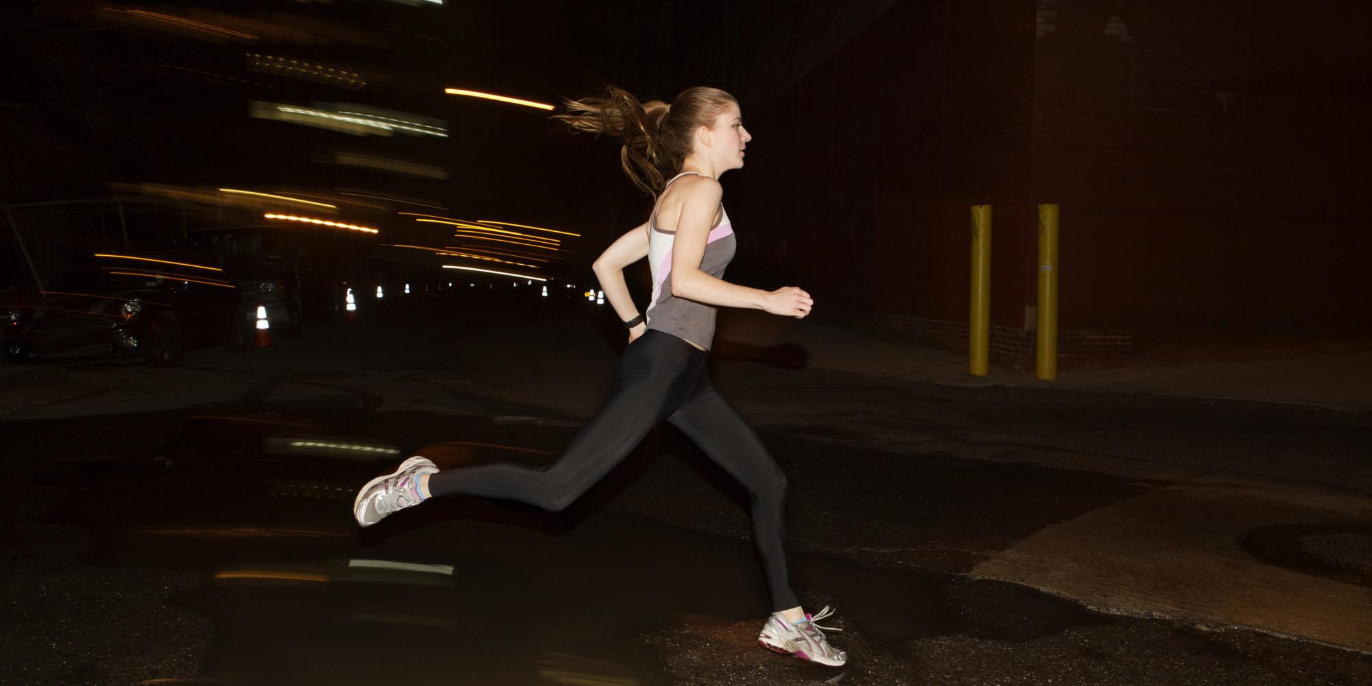 бег в темное время