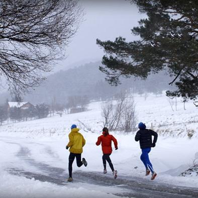 мотивируйте себя бегать зимой