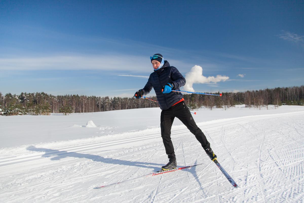 тренер по беговым лыжам Алексей Мячин