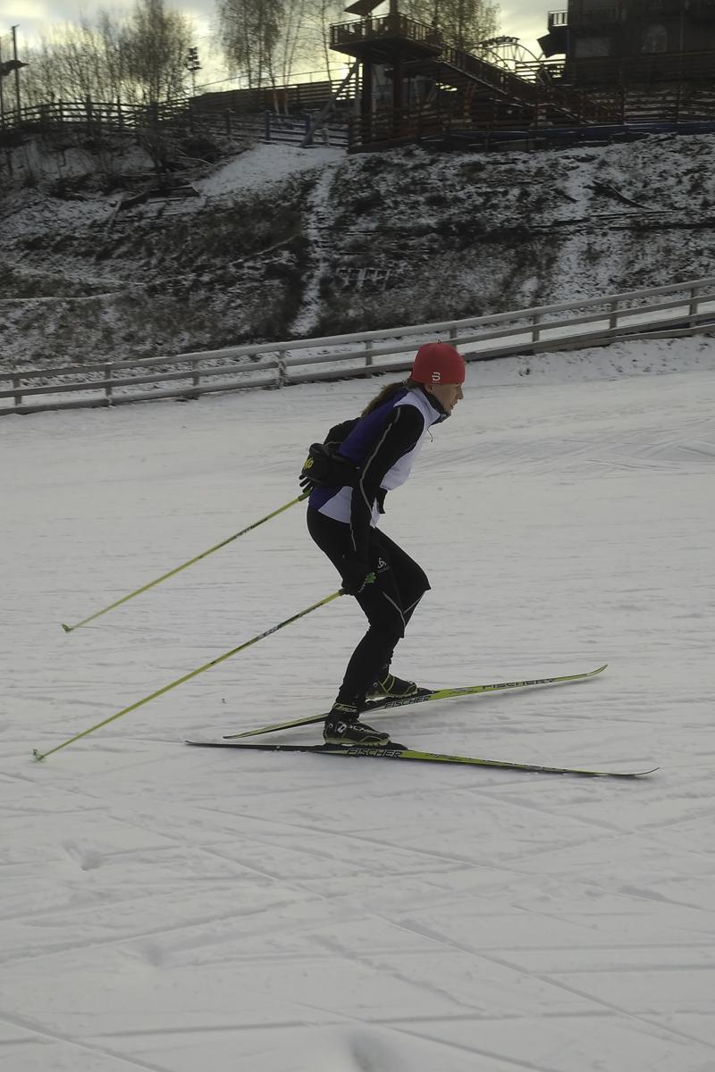 беговые лыжи в Канте