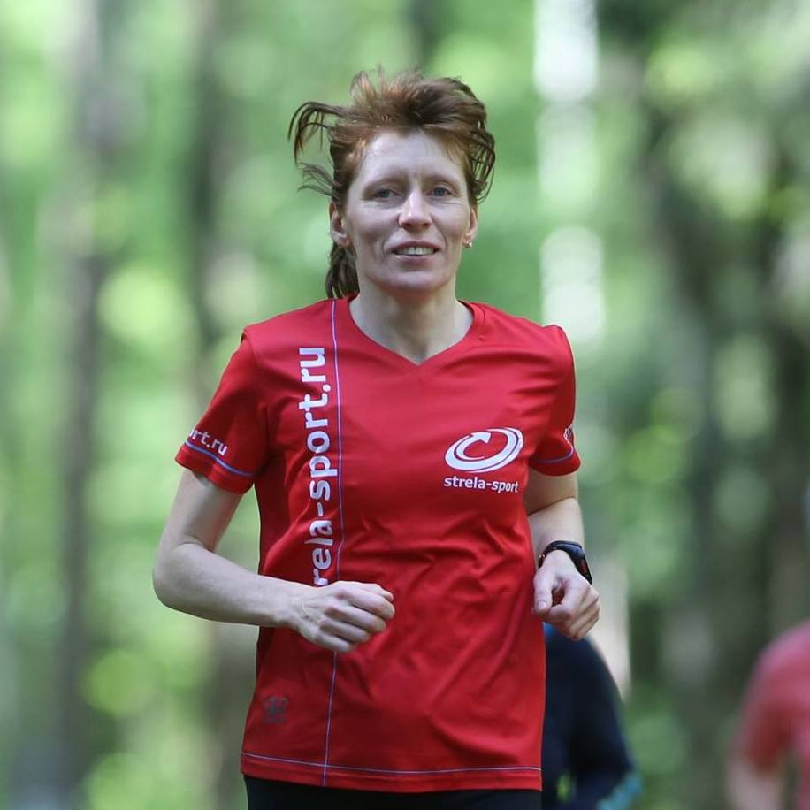 Ольга Полякова Strela - бег, беговые лыжи, горный велосипед