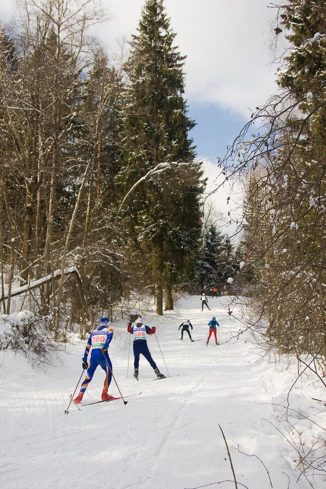 лыжный марафон. Красногорск