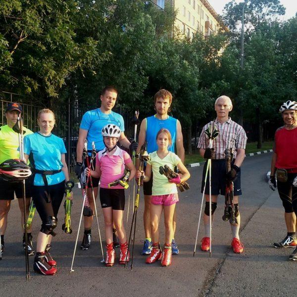 Начните кататься на лыжероллерах с тренерами STRELA