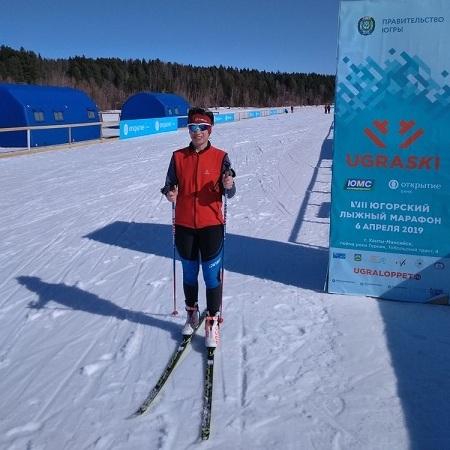 Татьяна Разумная о лыжном марафоне Югра-2019