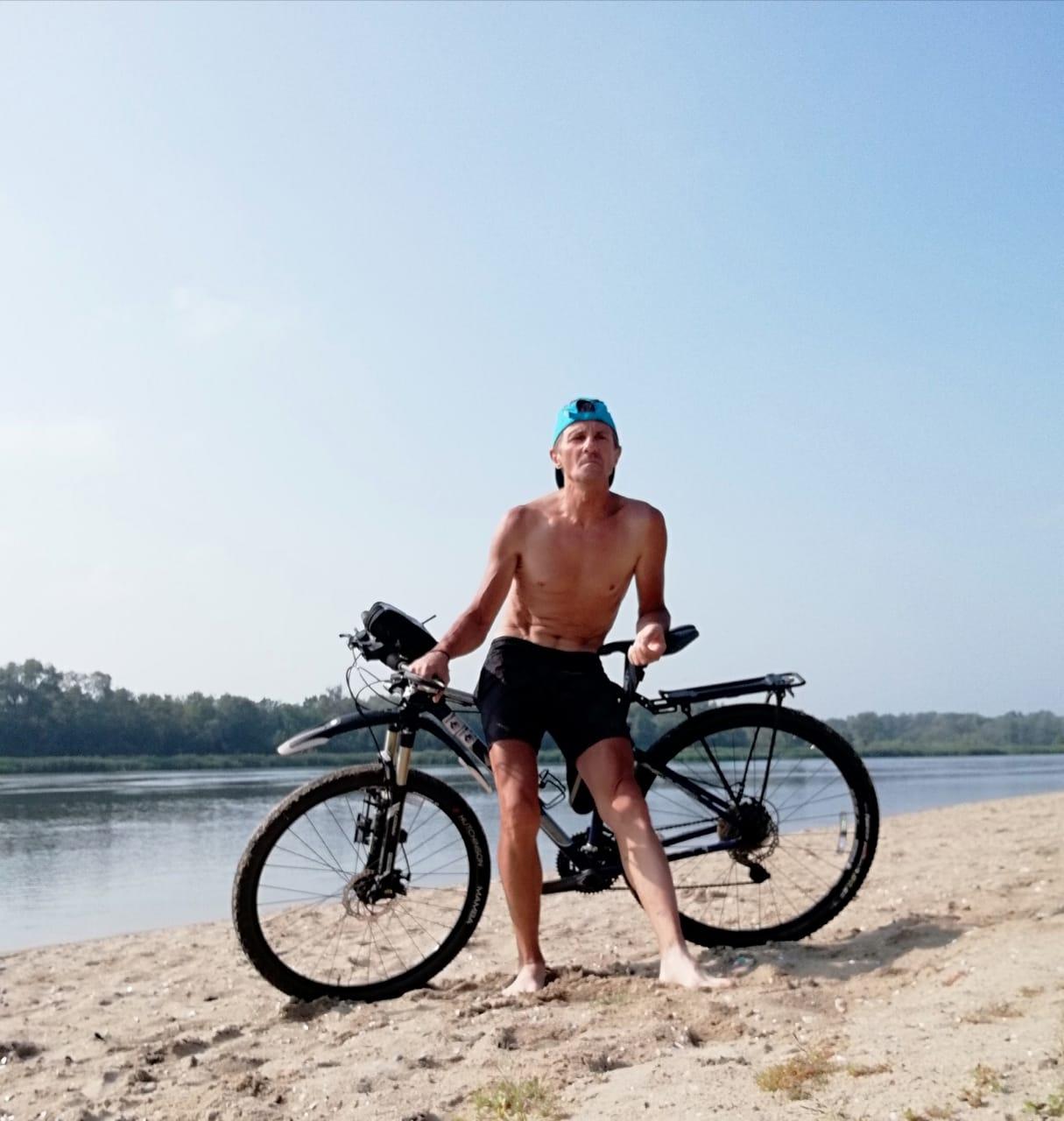 Валерий Баранов - велосипедист, ультрамарафонец