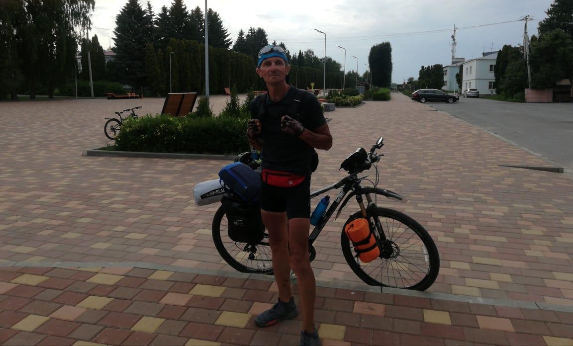 Валерий Баранов ультрамарафонец
