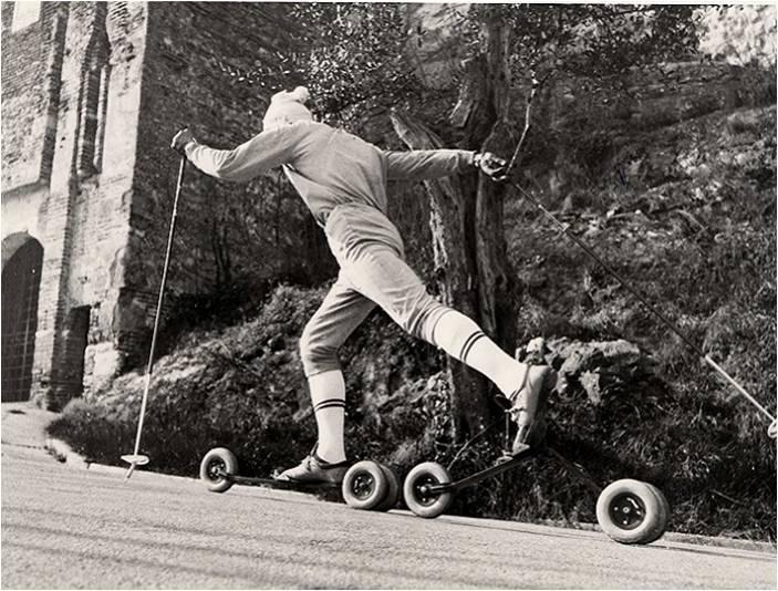 история лыжероллеров