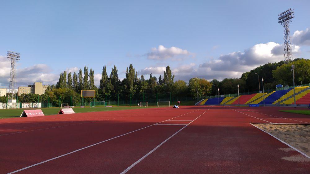 Стадион во Дворце пионеров на Воробьевых горах