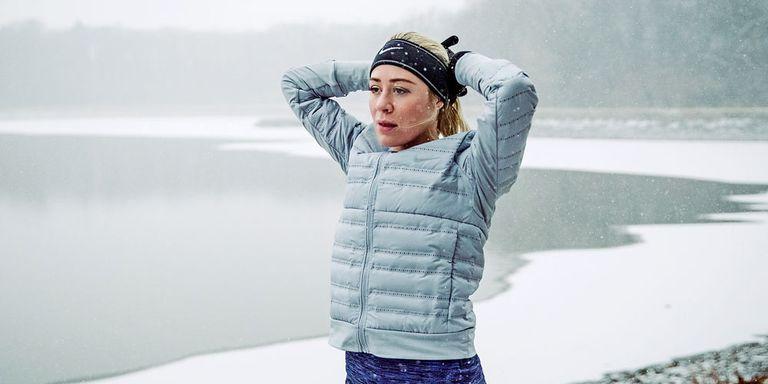 бег на холоде обжигает легкие?