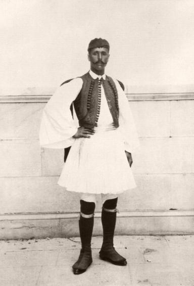 Спиридон Луис - победитель первого Олимпийского марафона, Афины 1896 г.