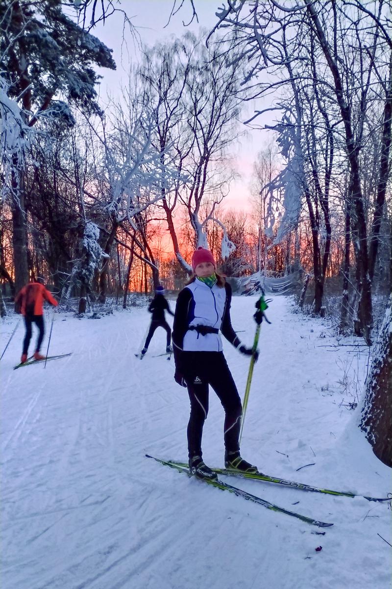 Ольга Полякова - беговые лыжи STRELA