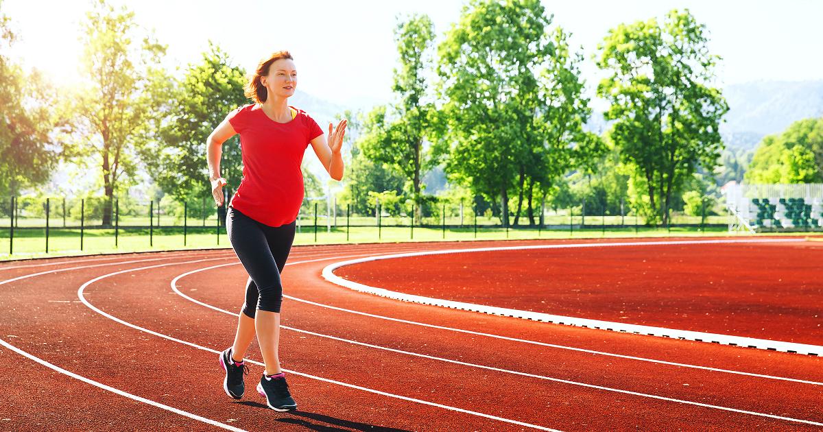 беременность и бег