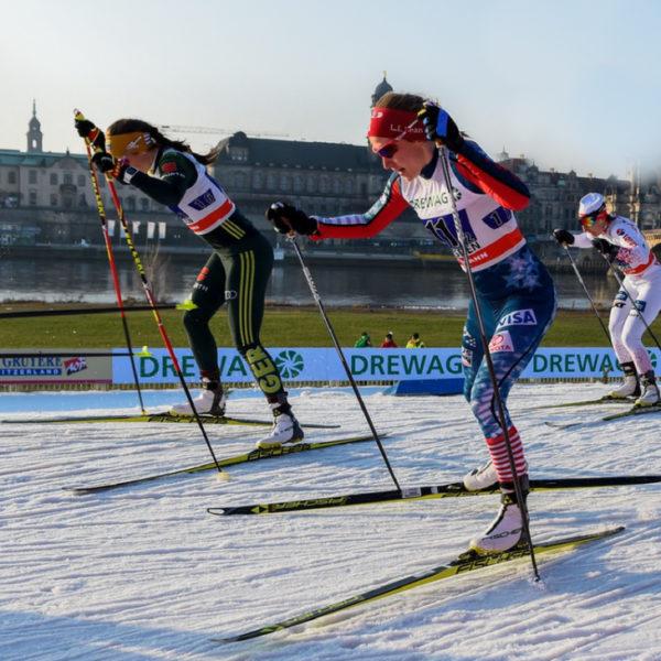 спринт на лыжах