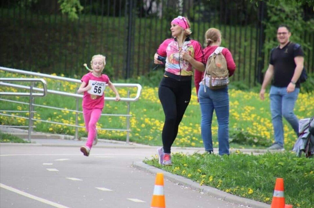 бег для начинающих, занятия с детьми - тренер Олеся Кочнева